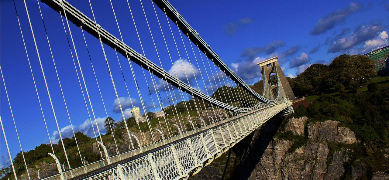 Avon Gorge Bridge Bristol Clifton Clifton Suspension Bridge Sky And Clouds