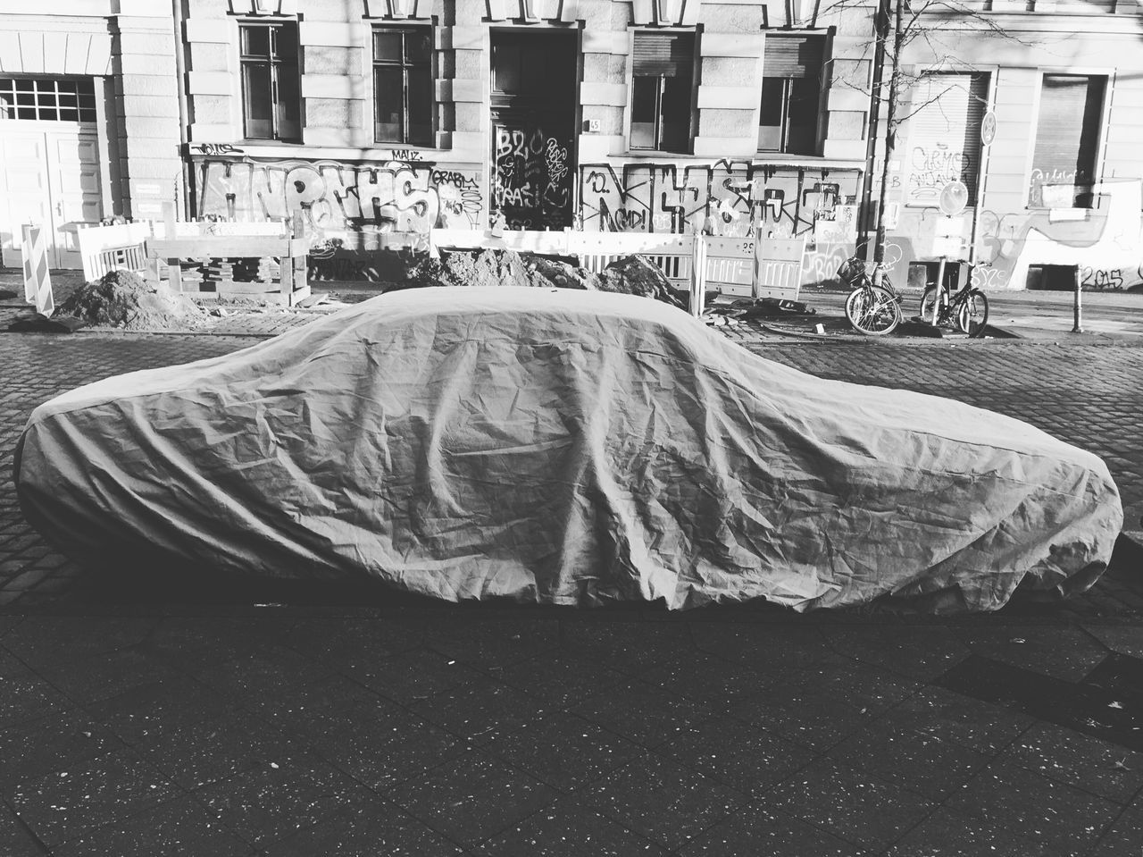 Car under cover Car Cover Iconic Motiv