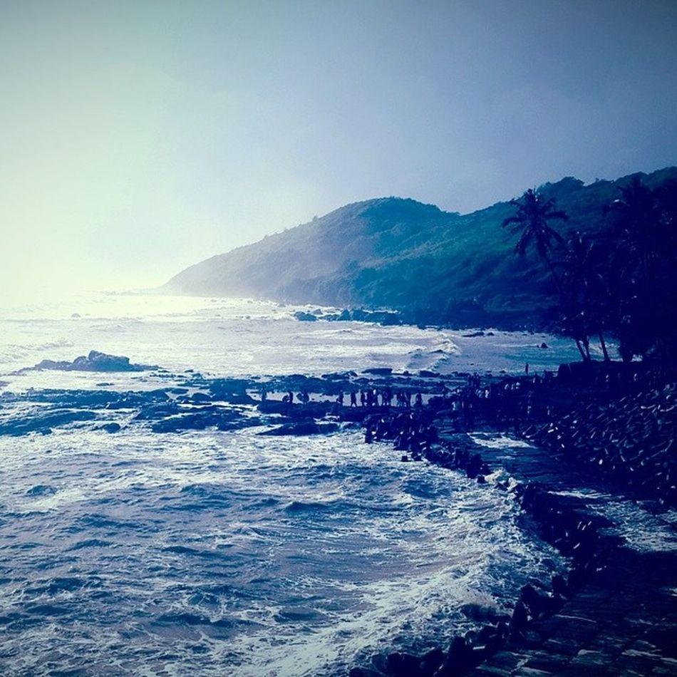 PickMyGoaPic Tides Bigvagator Beach northgoa goa mist dusk