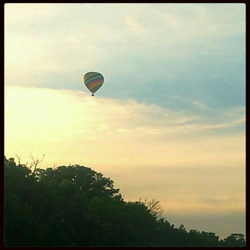 Check This Out Clouds And Sky Hello World Hot Air Balloon