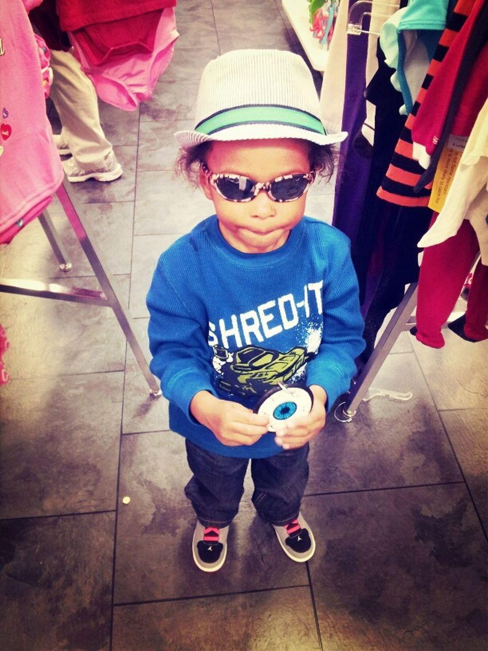 Little cousin Jarred.