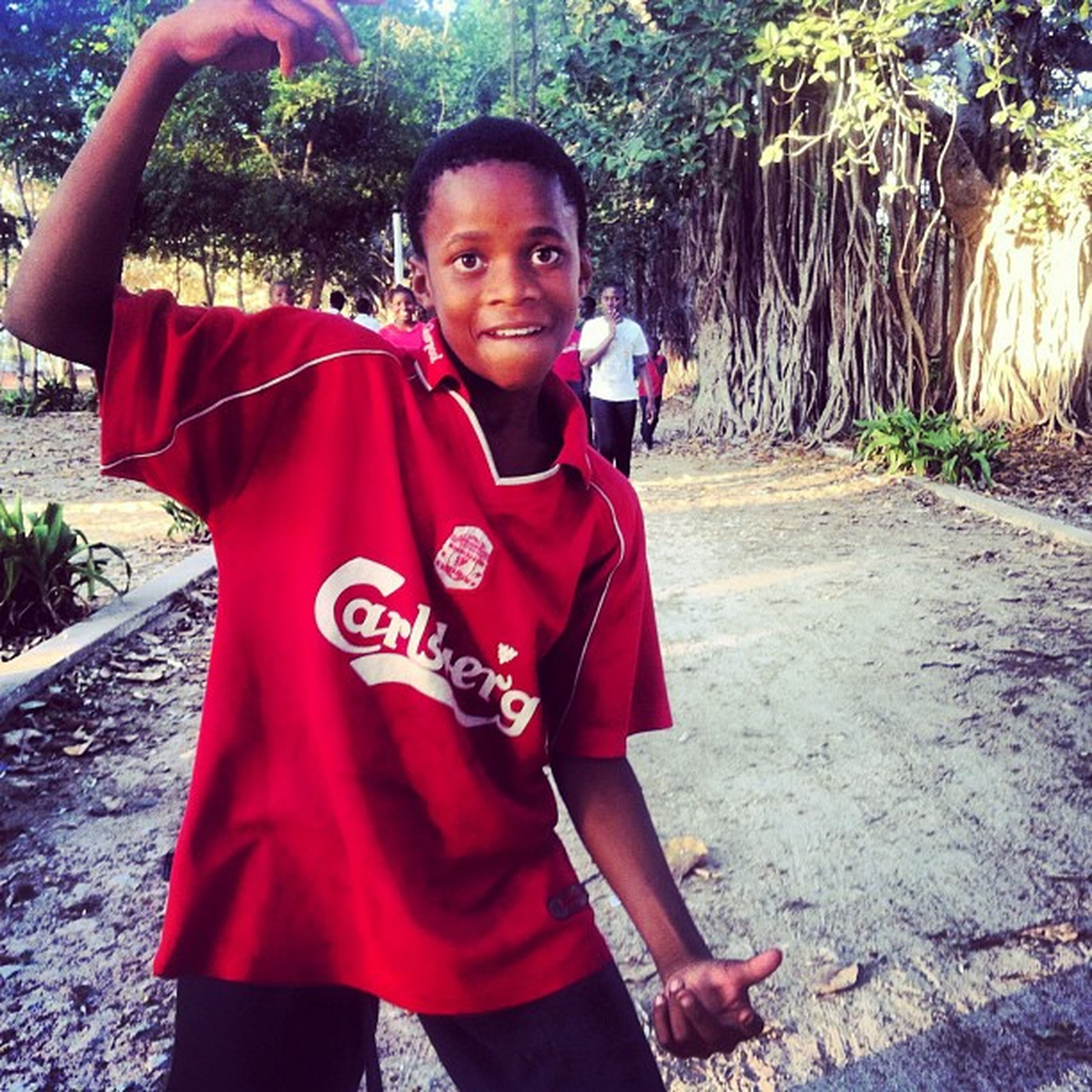 Starting a Tag Localsinliverpoolshirts a collection of pics demonstrating the global reach of the greatest Football club in the world Liverpoolfc soccer this one was taken in mozambique moztravel please post yours and use the above tag travel transport instasport liverpoolfootballclub
