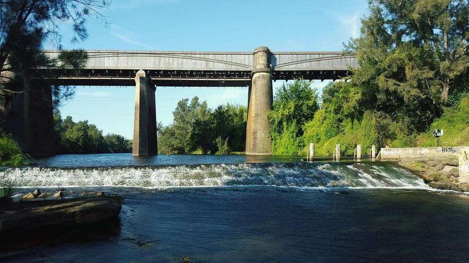 Hanging Out Taking Photos River Walk Riverbank Check This Out Showcase March Trainline Bridges Bridge View