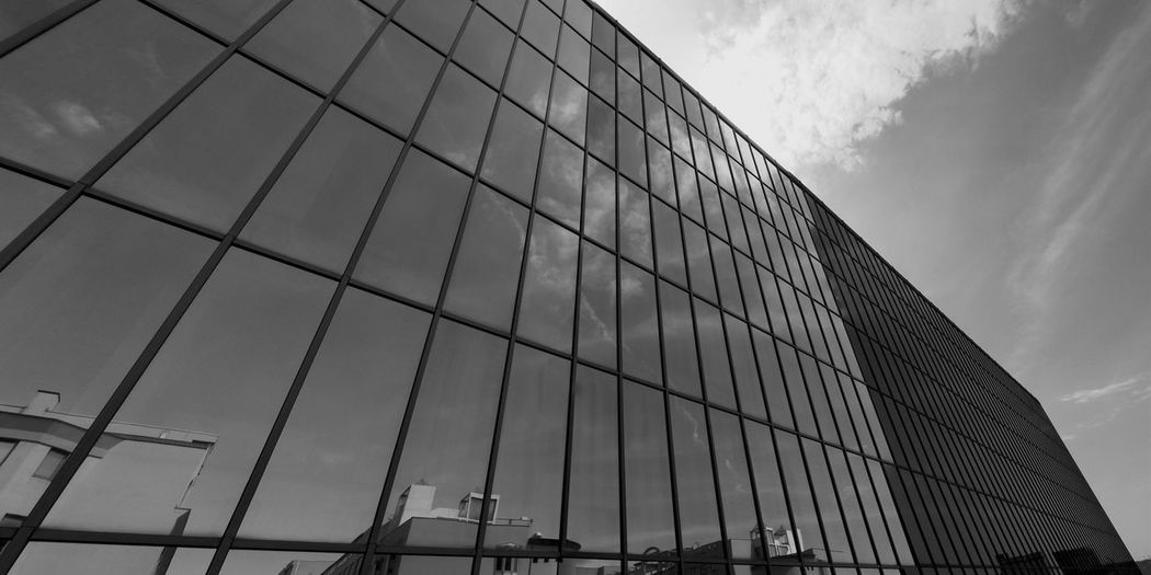 EyeEm Trieste Trieste Reflection TriesteSocial Geometric Shapes Darkness And Light Bwn_city Blak And White Bwn Bn