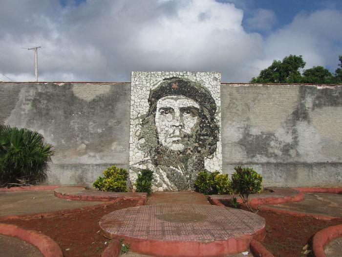 Che Guevara mural in the streetof Matanzas, Cuba Cuba Guevara Matanzas Memorial Mosaic Mosaic Tiles Revolution Wall Che Guevara Cheguevara Day Ernesto Ernesto Che Guevara Mural No People Outdoors Portrait Stone Stone Mosaic