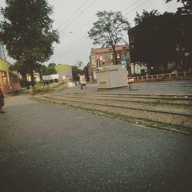 Powrot Do Domu Taki Wieczorny WOW Bytom Beuthen Szombierki Schomberg Silesia Tram Waiting Pan Motorniczy Mówi Ze Biletów Nie Trzeba Nolegal Bandit Gangsta Pato