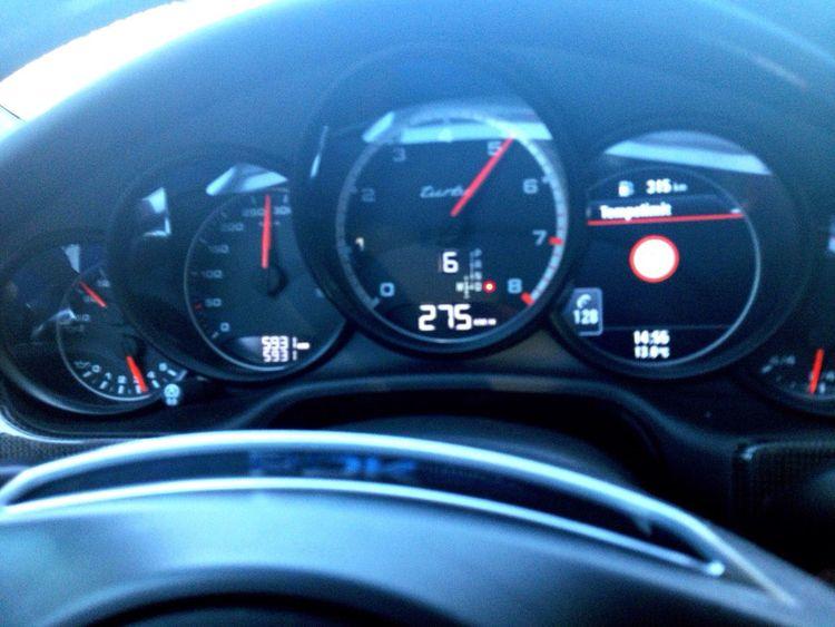 Speed Porsche Panamera Germany