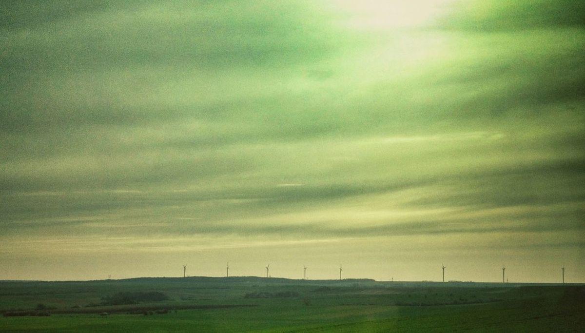 Landscape Wind Turbine Austrasie