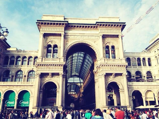 The train station of Milano :)