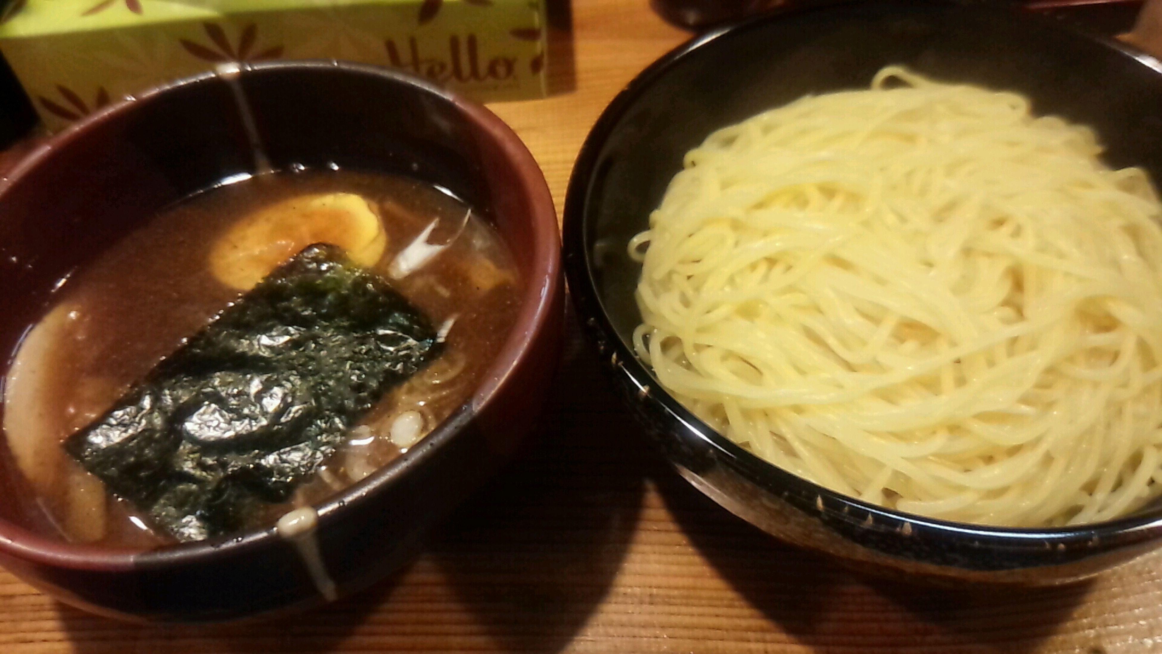つけ麺なう。 Ramen Dinner Eating