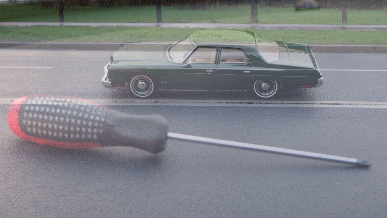 Old Car 20:15pm эх дороги... La Strada