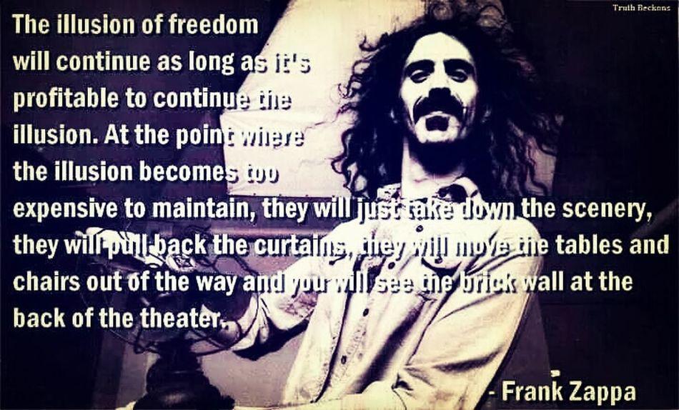 Frank Zappa Illusion Open Your Mind Frank Zappa