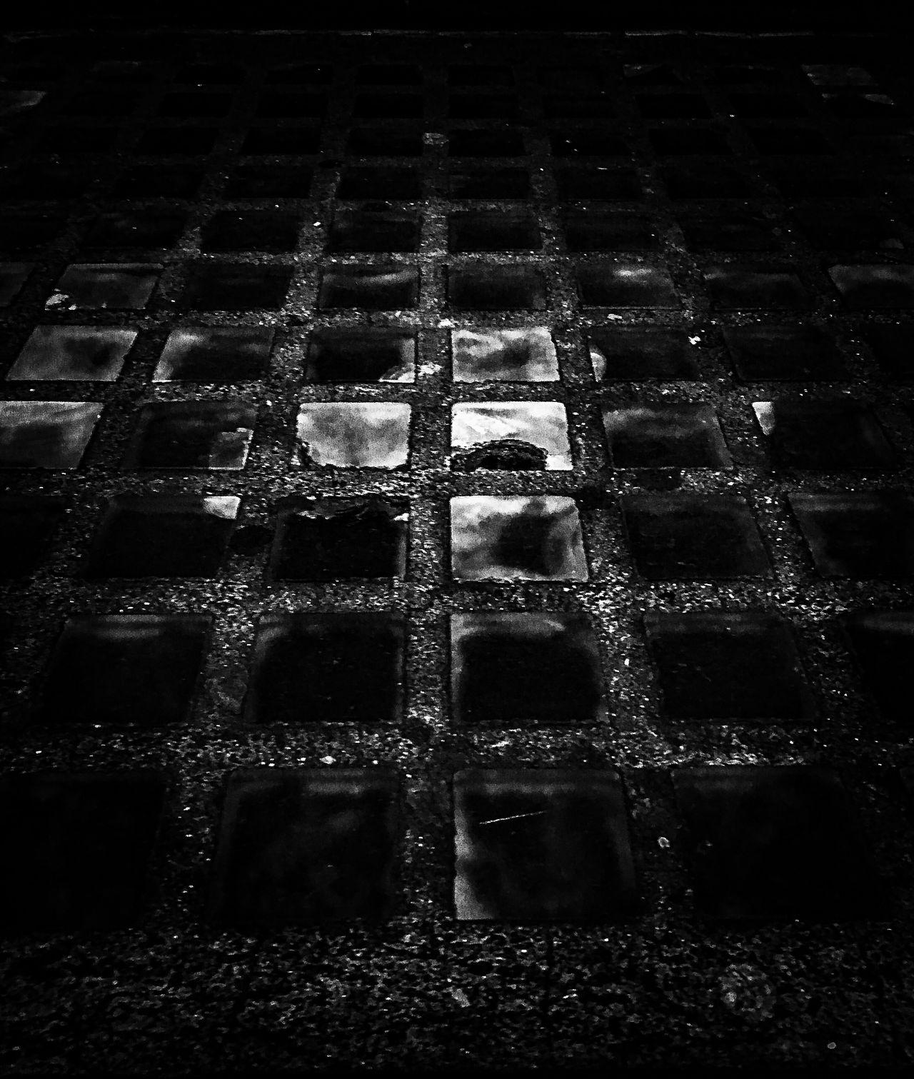 Glass Blocks Pavement Black And White London Streetphotography Urban Exploration Fine Art The Week Of Eyeem Showcase July Creative Photography Weathered Artistic Dark Mood