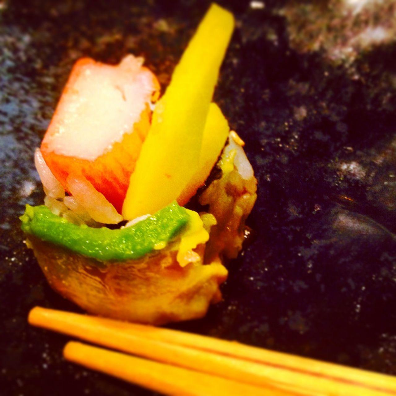 Food Porn Awards Sushi Mango Surimi Sesame Avocado