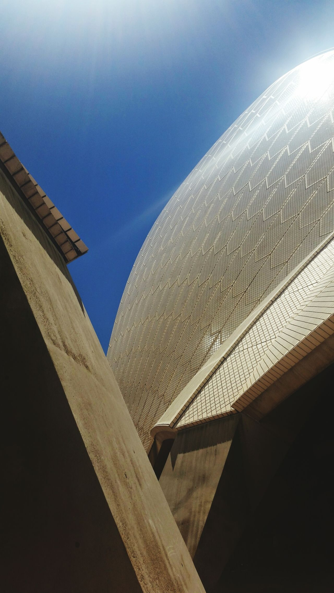 Operahousesydney Built Structure Low Angle View Curve Architecture No People Outdoors Sky Slanted Architecture Building Exterior Australian Landscape