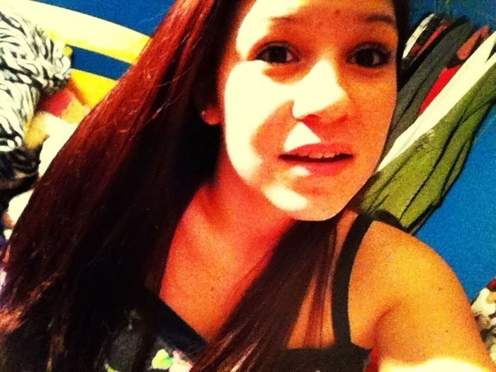 Dyed my hair Red ❤❤