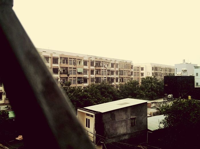 View From My School Daily Look Apartment Buildings