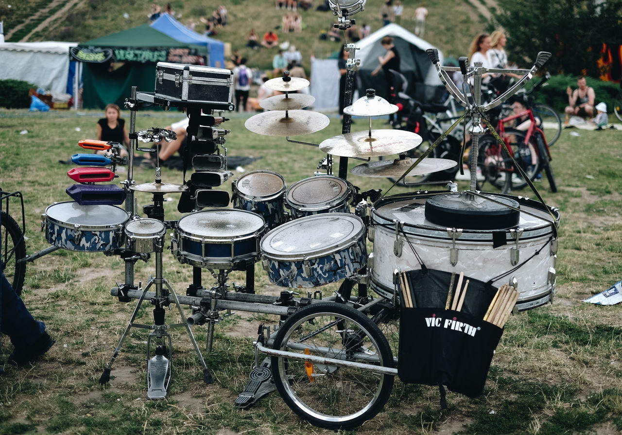 Adult Adults Only Day Drum - Percussion Instrument Drummer Music Musical Instrument Musician Outdoors People Summer