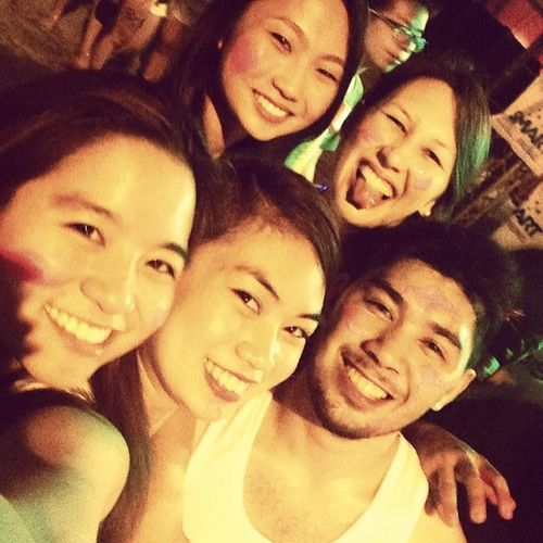 Partying with these pretty ladies last night! Breweryparty Arawngdabaw