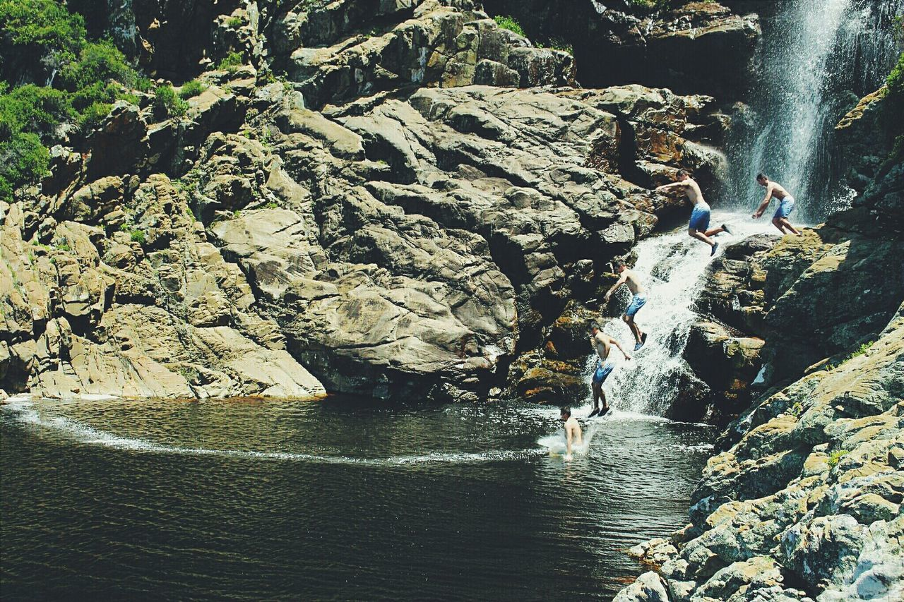 Jumping Swimming Waterfall Taking Photos Check This Out Enjoying Life Nature_collection South Africa Photography Adventure Beautiful Travel Eye4photography  Hiking Edit EyeEm Best Edits Photo Editing Impossible Moments Superimpose Nature