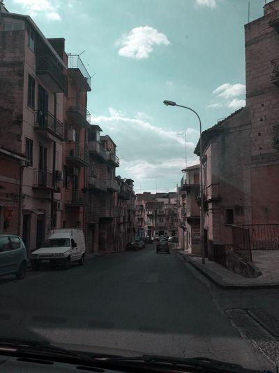 City Sicilia Strade Road Car Beautiful WOW Londostyle Effetto