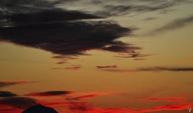 RED SKY Sky Auvergne Puydedome D3200 Tamron Red Volcano Chainedespuys