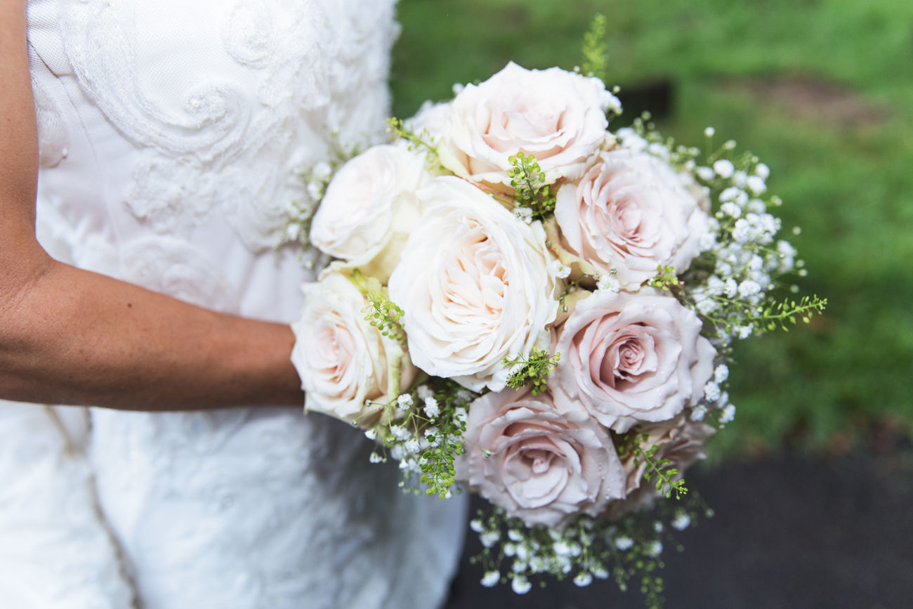 Wedding Bride Bouquet Bride Dress Flowers Holding Life Events One Person Outdoors Wedding Wedding Ceremony White Color Woman