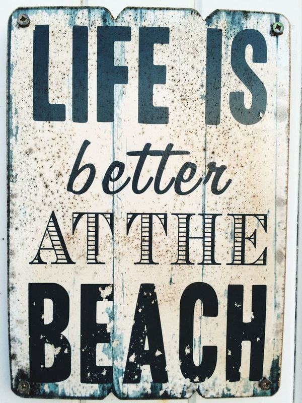 Beachach] Life Is A Beach Life Lifestyle Quotes Quote