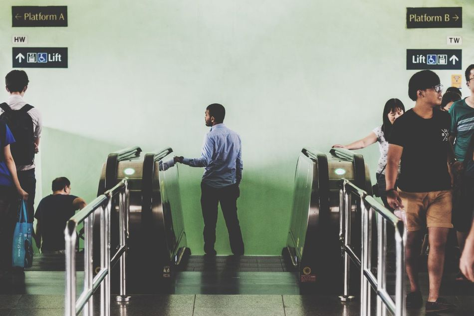 My Daily Commute Commute Daily Commute Middle Green Singapore Buona Vista Thestreetphotographer2016eyeemawards The Street Photographer - 2016 EyeEm Awards
