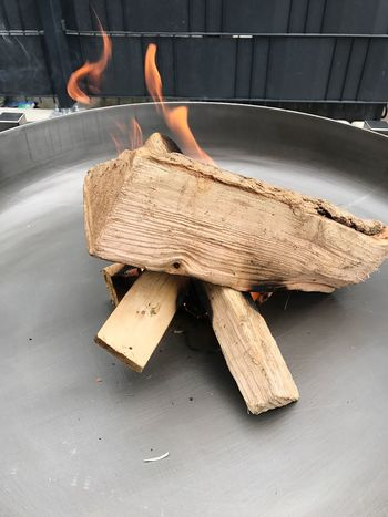 Fire Wood - Material Close-up Fire Bowl Metal Wood Outdoors Burning Metal Bowl Terrace Garden Brazier Relaxing Smoke Evening Grey Flame Wall Bonfire
