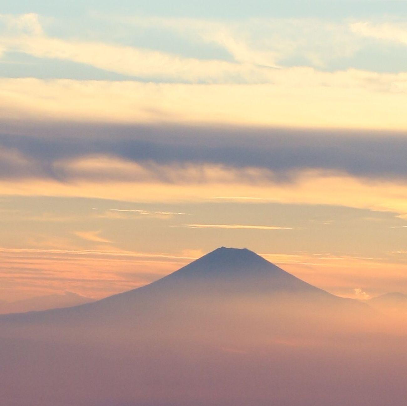 夕日 #富士山