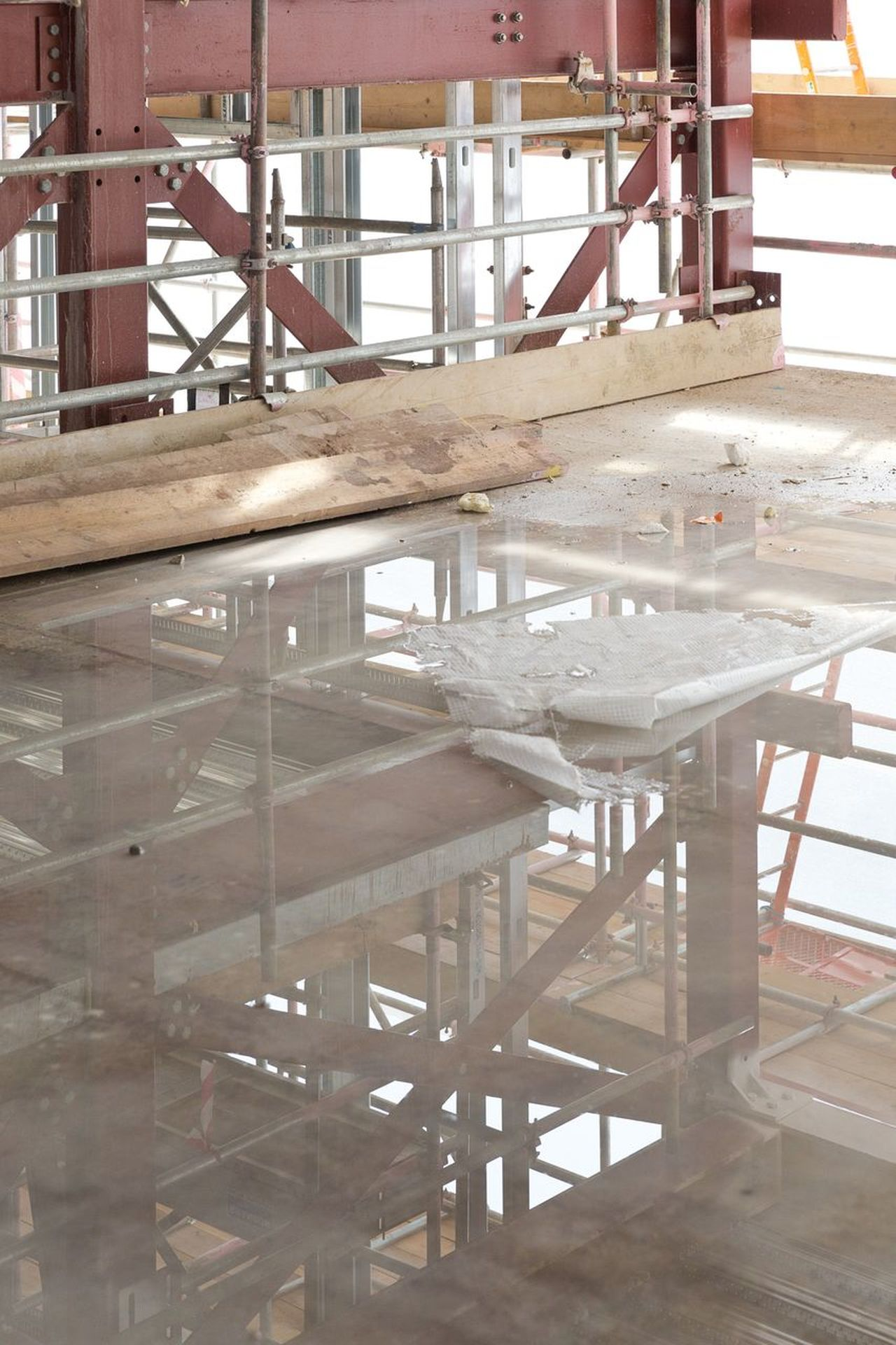 Construction Site Architectural Feature Architecture Architecture_collection Architecturelovers Building Buildings Close-up Construction Construction Industry Construction Site Construction Work Day Indoors  Interior Design No People Reflection Reflection_collection Reflections Table Water