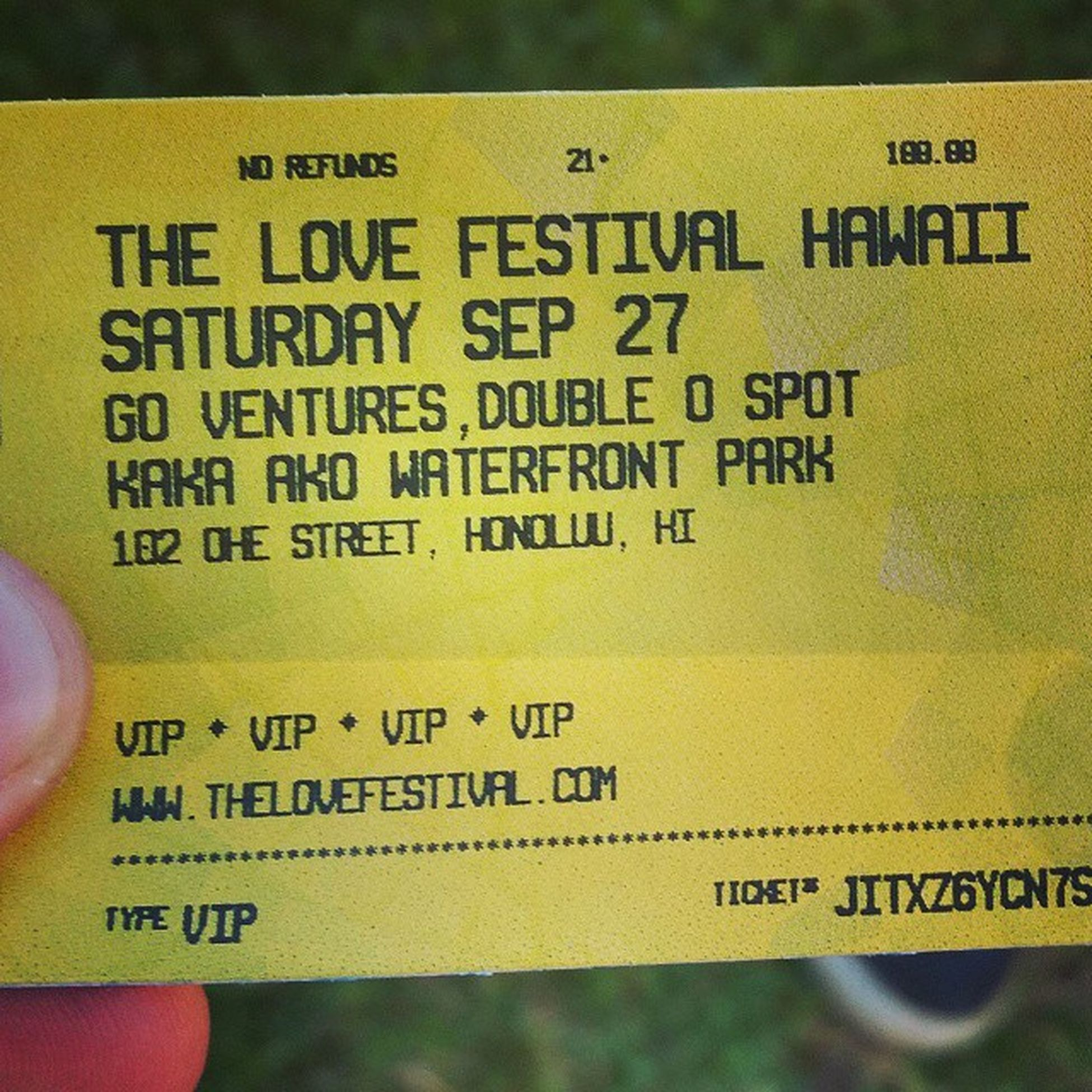 So stoked for this! Lovefestivalhawaii