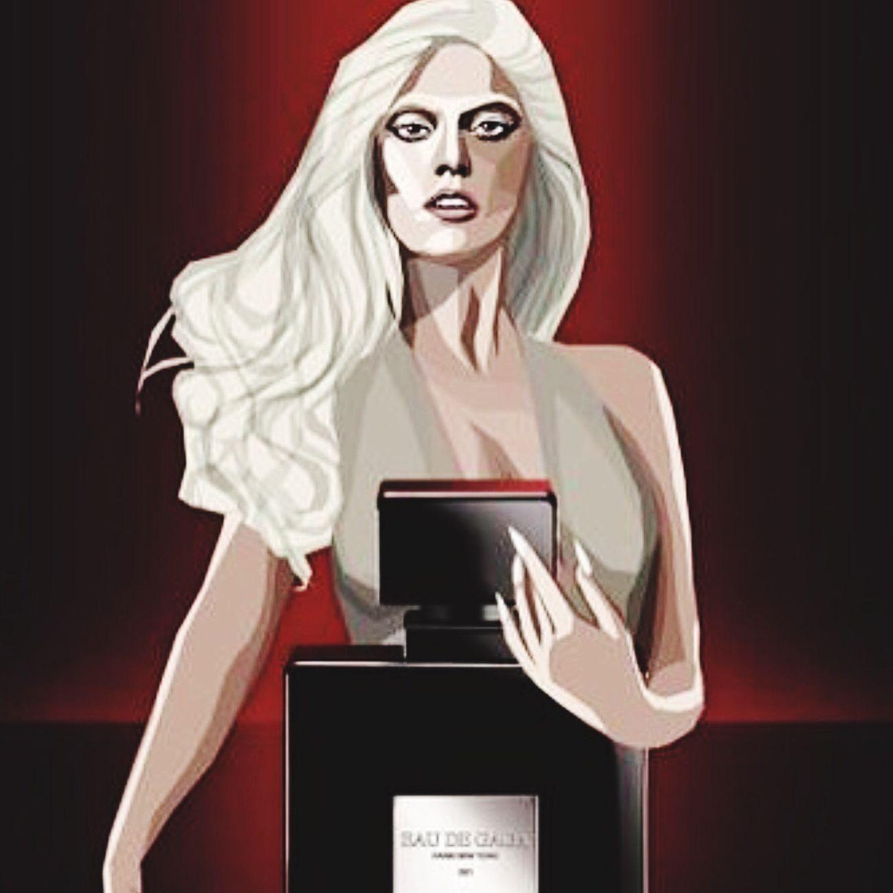 Lady Gaga's 2nd fragrance 'EAU DE GAGA' Ladygaga Eaudegaga Fragrance