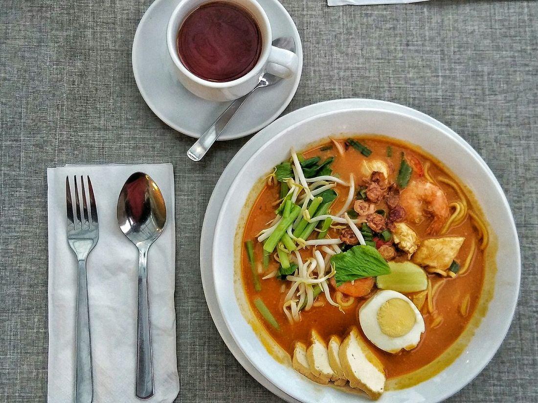 Laksa Kedah style !! Malaysia Malaysian Malaysian Style Malaysia Food Laksa Curry Noodle Gunung Jerai Vegetables First Eyeem Photo