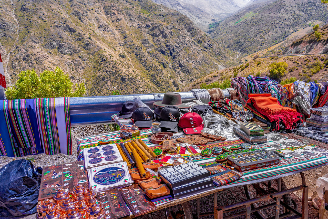 Connected Worlds Chile Crafts Craftsmanship  Mountain Multi Colored Nature No People Outdoors