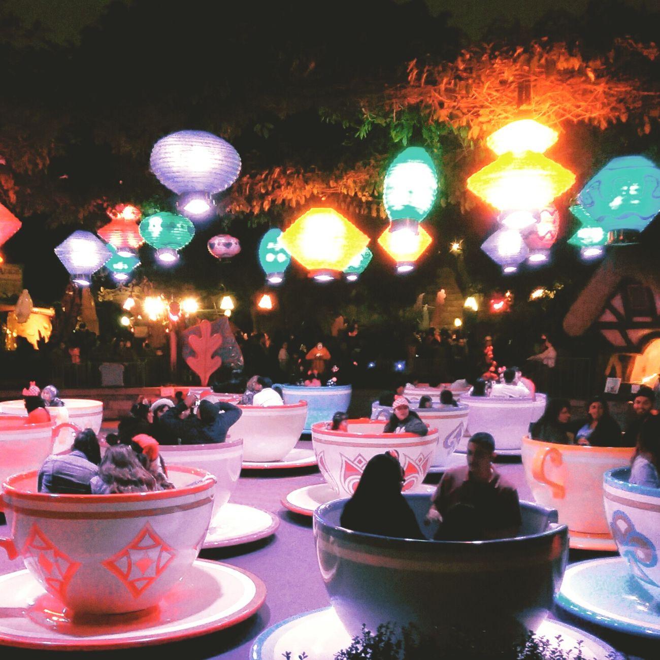 Aliceinwonderland Teacups Disneyland