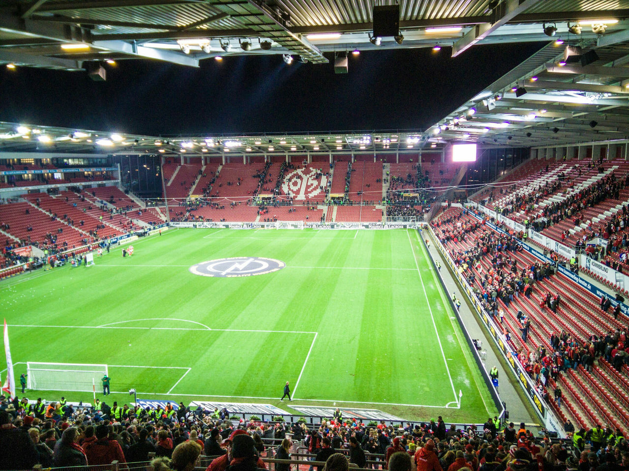 Mainz 05 Mainz Mainz Germany Soccer Sport Stadium Green Ball Team First Eyeem Photo