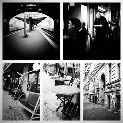 #iphone4s #iphoneonly #berlin #instagram #bw #montage #picframe #noir