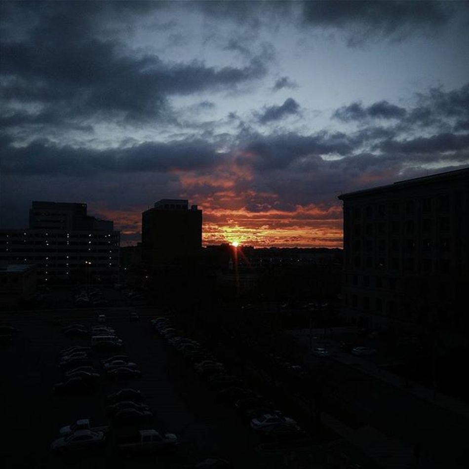 Sunrise Lansing Michigan Cityscape VSCO igerslansing