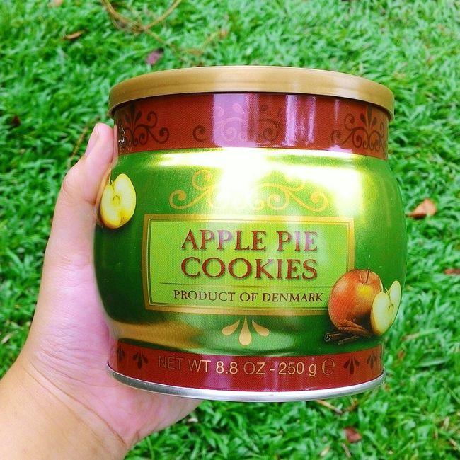 Yay Apple Pie Cookies Apple Pie Cookies Food Photography Foodie Food Lover Green