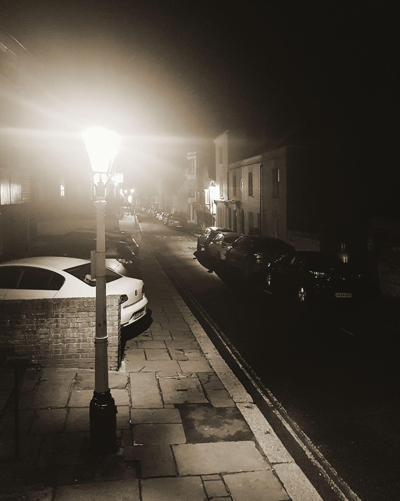 Night Illuminated No People