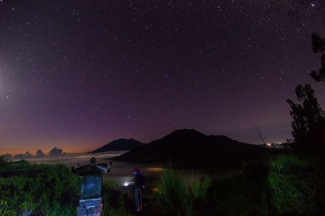 star and sunrise Astronomy Beauty In Nature Dark Green Color Idyllic Illuminated Landscape Majestic Mountain Mountain Range Nature Night No People Non Urban Scene Non-urban Scene Outdoors Remote Scenics Sky Star - Space Star Field Tranquil Scene Tranquility Tree