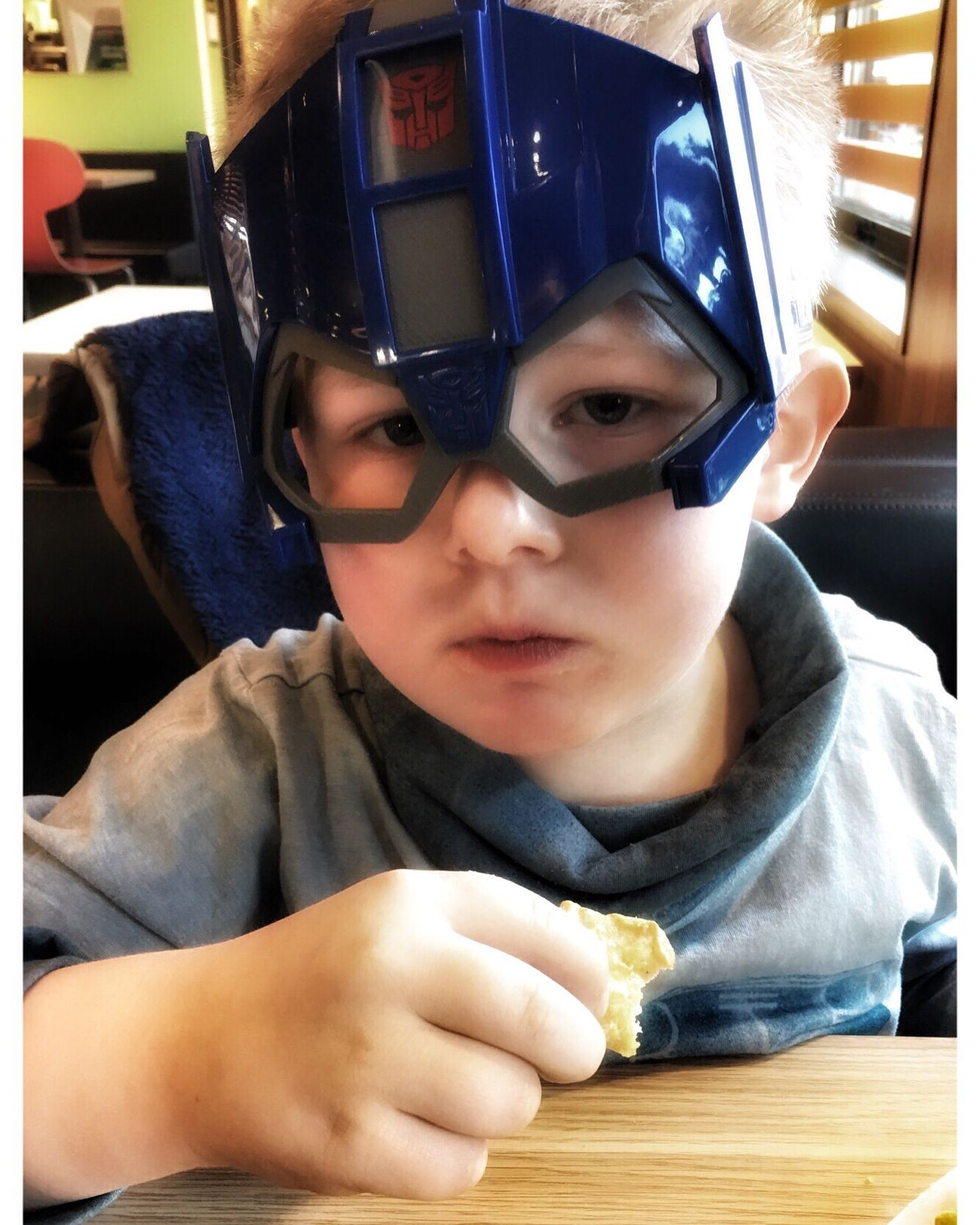 Super Hero at the Mac