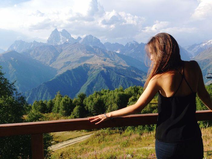 Nature Georgia Svaneti Mestia Enjoying Life Hello World Colors Relaxing Mountains Beautiful