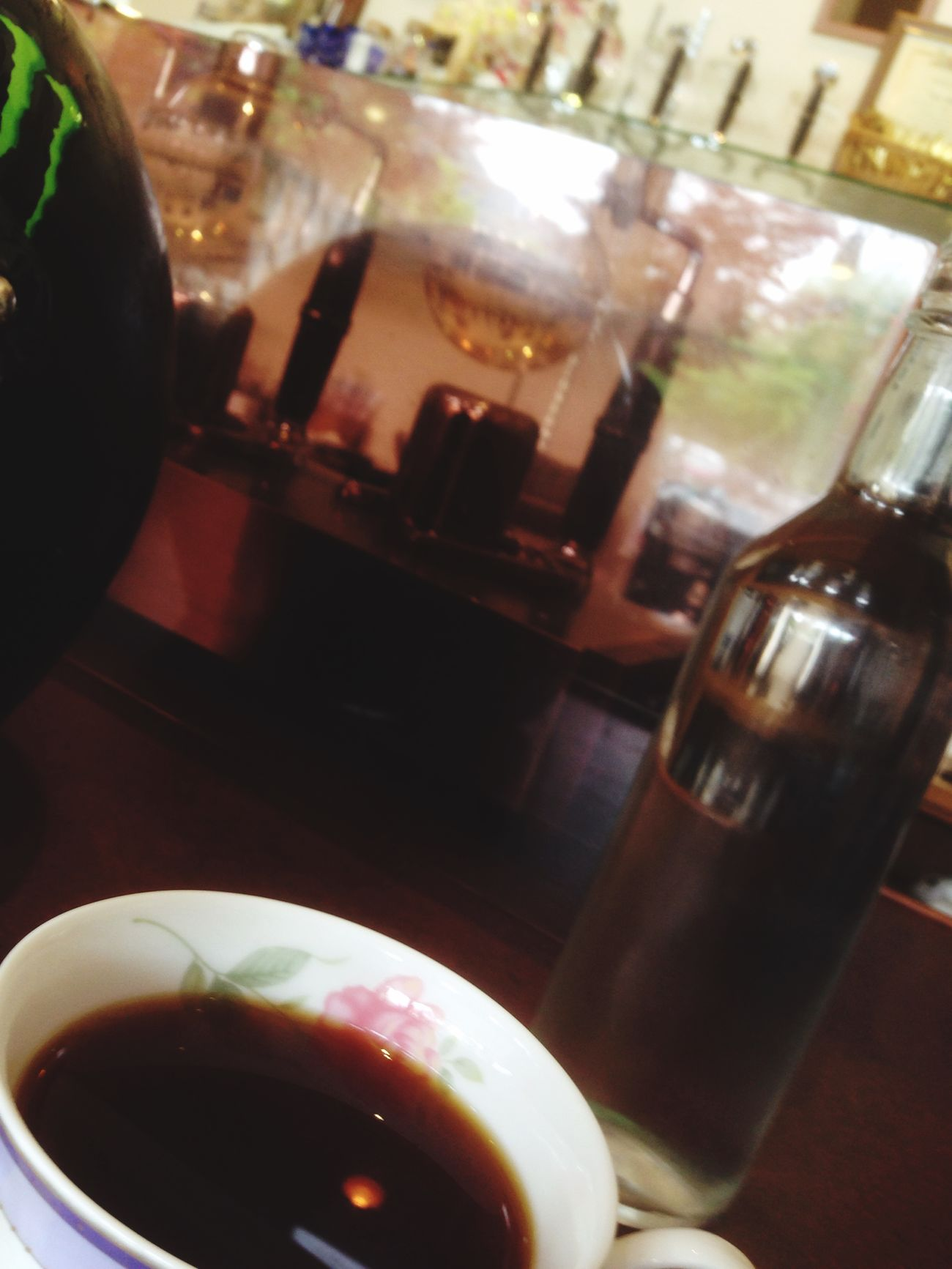 Relaxing Coffee あなどれない…馬いコーヒーを頂きました^ ^ Quality Time