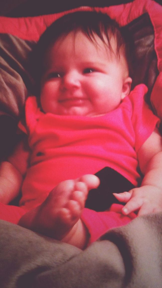 Hanging Out Hello World Cheese! Adorable Niece 💕 Baby ❤ Angelina Babygirl