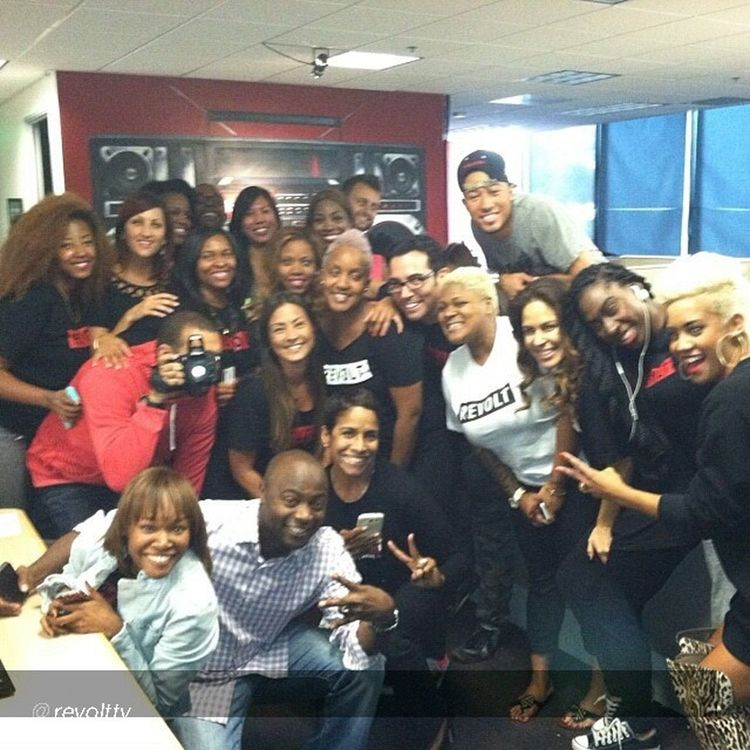 @revolttv fam that changed the world today. Music is back on TV. Revoltlaunch