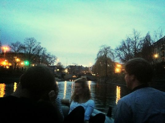 Booze Cruise! in Berlin by Rosa