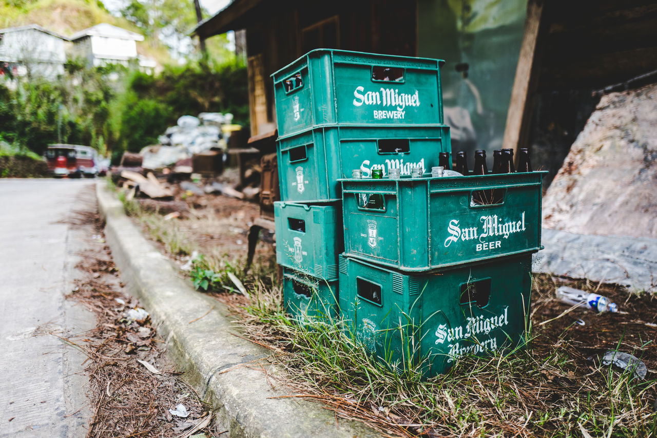 Asia #10 ASIA Beer Brewery City Countryside Exploring Green Color Hiking No People Philippines Sagada San Miguel